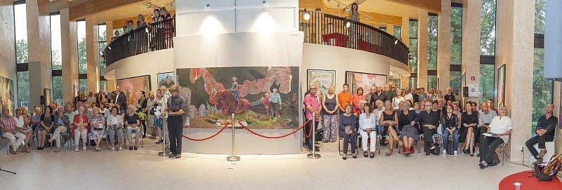 Ausstellungseröffnung Mythos Europa in Eberswalde 2016