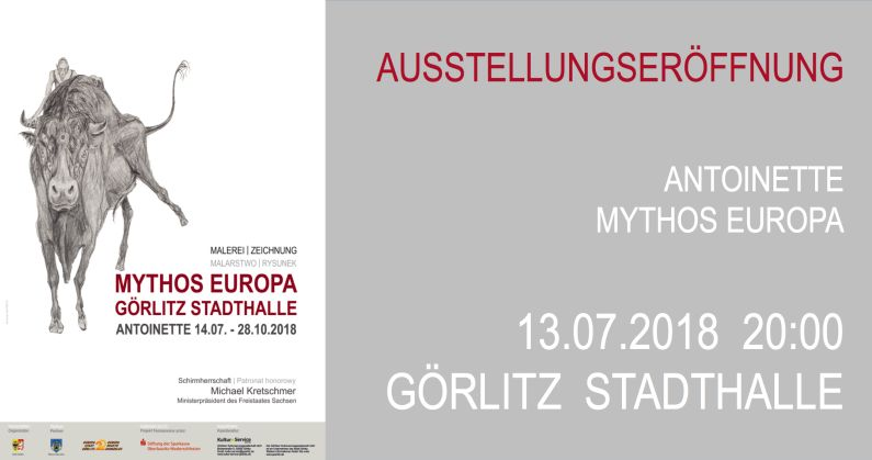 Flyer Vernissage Görlitz 2018
